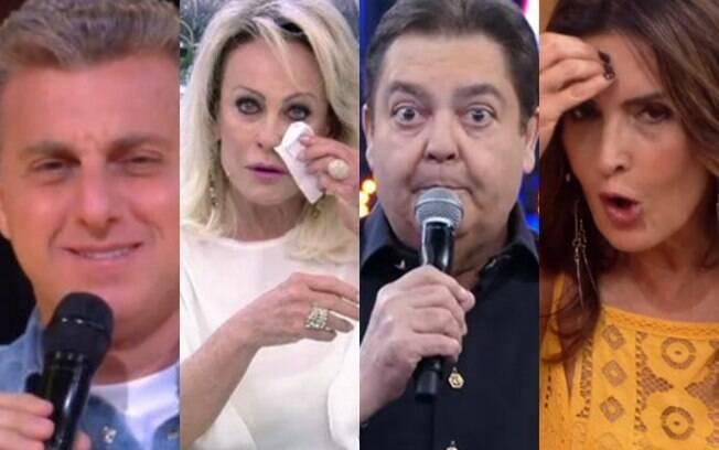 Luciano Huck%2C Ana Maria%2C Faustão e Fátima Bernardes