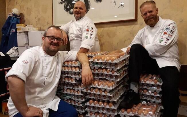 Noruega encomenda 15 mil ovos por engano para equipe dos Jogos de Inverno