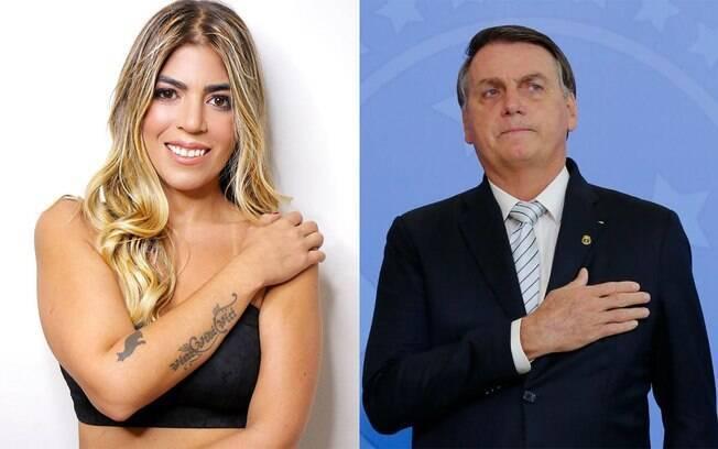 Bruna Surfistinha é criticada por cobrar Bolsonaro