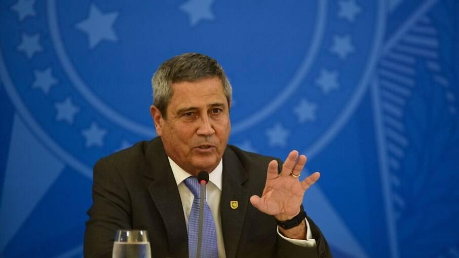 General Braga Netto, ministro da Defesa