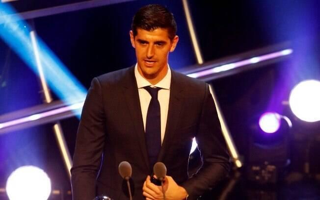 Courtois levou o prêmio de melhor goleiro da temporada