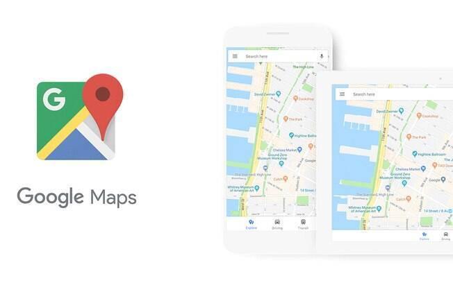 Mudança no Google Maps também deverá ser percebida em outros serviços do Google, como Earth e Android Auto