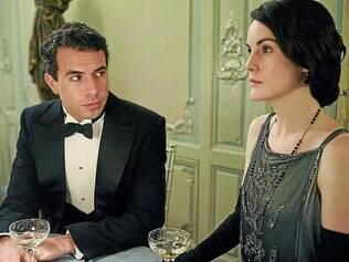 Pretendentes. A viúva Lady Mary (MichelleDockery)terá uma vida mais agitada nesta quinta temporada