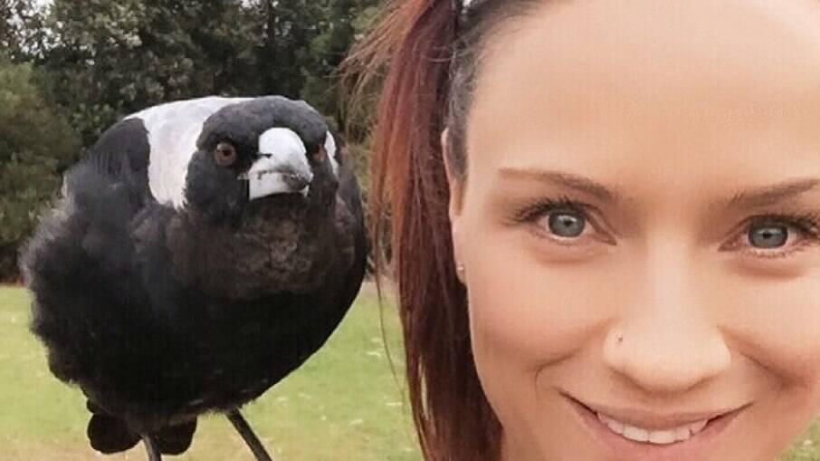 Mulher é 'escolhida' por pássaro e se torna uma cuidadora de aves selvagens