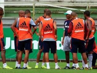 Cristóvão Borges voltou a dar atenção especial ao sistema defensivo do Tricolor das Laranjeiras