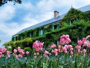 Os jardins da casa de Monet foram planejados e cuidados pelo pintor