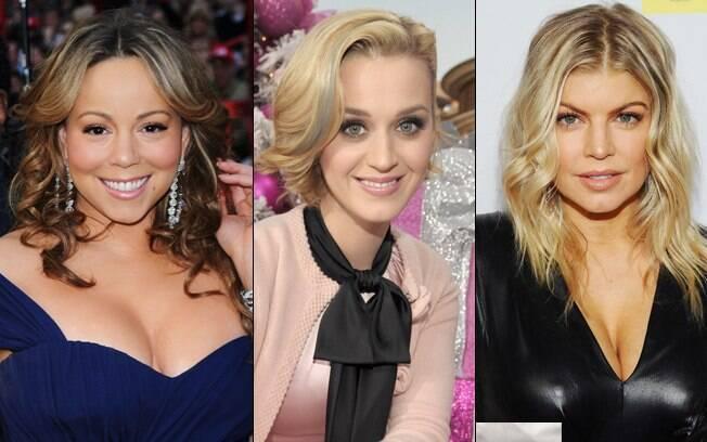 Mariah Carey, Katy Perry e Fergie também figuram na lista dos maiores cachês