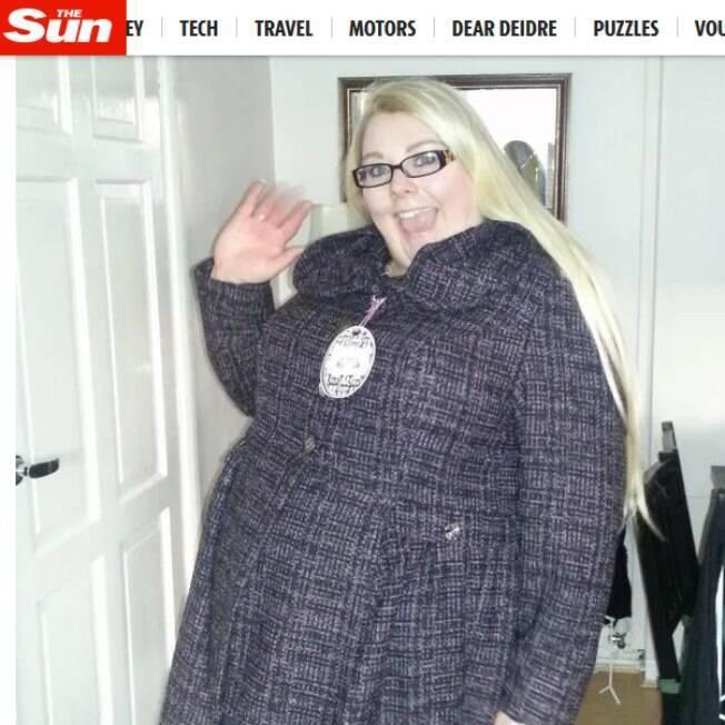 Clare Slater emagreceu cerca de 40 quilos e hoje se sente mais confortável com seu corpo