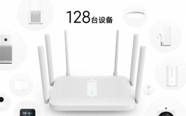 Novo roteador da Xiaomi promete conectar até 128 dispositivos
