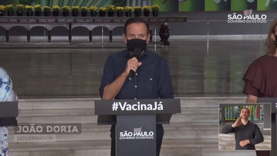 João Doria lamenta incêndio de Cinemática em São Paulo