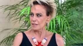 Ana Maria Braga dá esporro ao vivo em produção