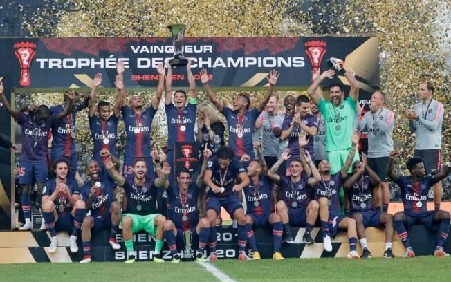PSG conquistou o seu oitavo título da Supercopa da França