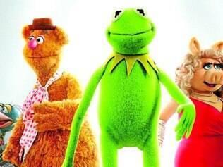 Retorno. A turma liderada pelo sapo Kermit e pela porca Miss Piggy retorna em mais um filme dos bonecos Muppets