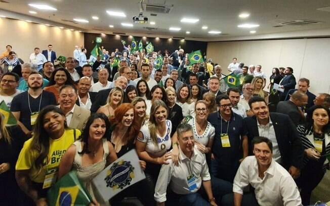 Aliança pelo Brasil reuniu líderes e manifestantes pela primeira vez em São Paulo