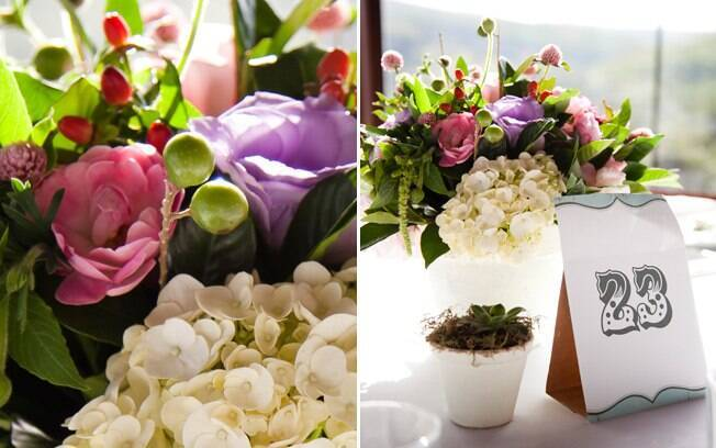 Flores da época barateiam custos da decoração