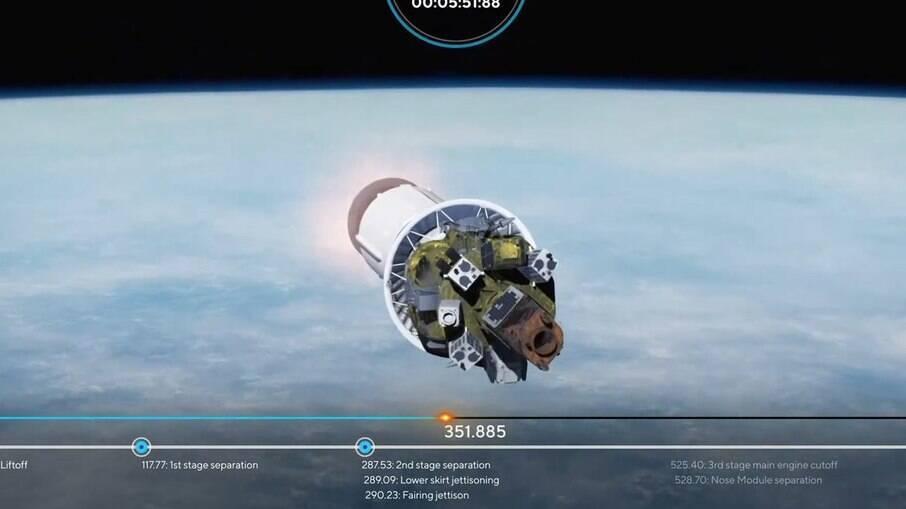 NanoSatC-Br2 será o último de 38 satélites a ser liberado em órbita