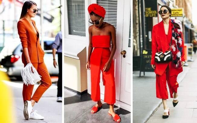 Ouse e use o conjunto feminino de maneira fashionista.