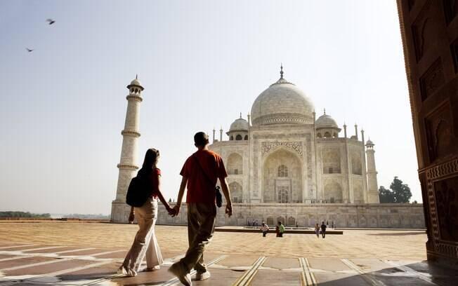 Taj Mahal é considerado a maior prova de amor do mundo