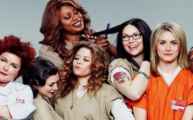 ''Orange is the New Black'' é uma das primeiras séries da Netflix a fazer sucessos e ser indicada a prêmios