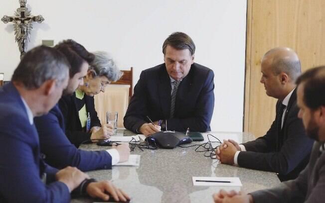 O Presidente Jair Bolsonaro quer acabar com o acordo de patrocínio entre a Petrobras e a McLaren.