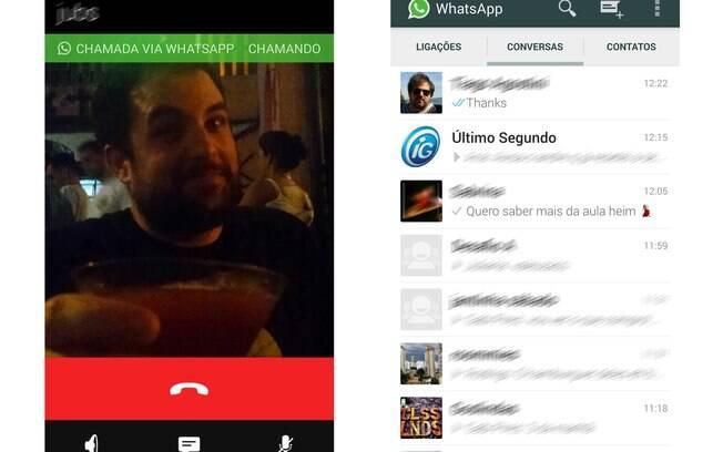 Nova versão do Whats App para Android possui recurso de chamadas telefônicas via app