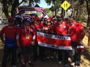 Torcedores já estão no Mineirão e já pensam na próxima fase do Mundial