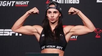 Dominante, Ariane Lipski supera alemã e volta a vencer no UFC