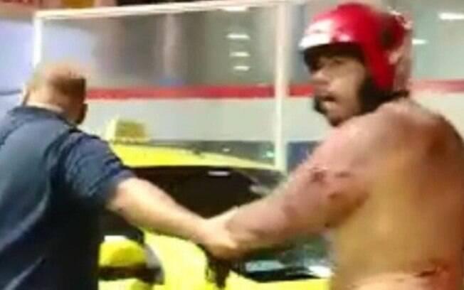 Torcedor do Botafogo foi espancado