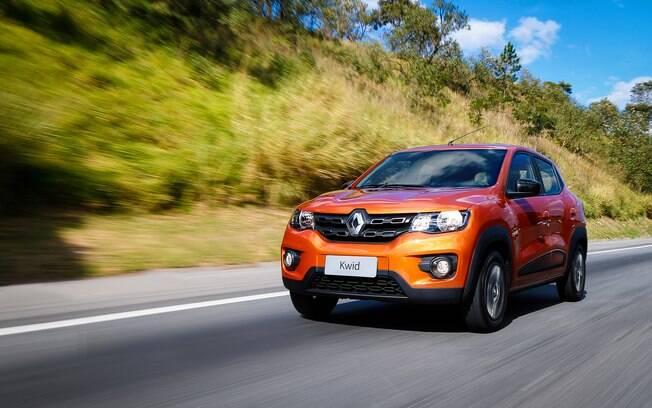 Renault Kwid combina motor de três cilindros e baixo peso para ter um ótimo consumo
