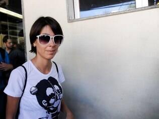 A ativista Elisa Quadros Pinto Sanzi, 28 anos, conhecida como Sininho, foi detida em Porto Alegre antes da final da Copa