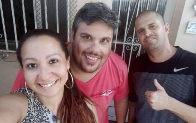 Thaís Ribeiro, Bruno Castanha e Leandro Menezes, criadores do canal