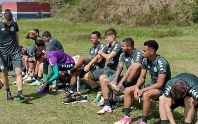 Guarani treina em Salvador antes de partida neste sábado