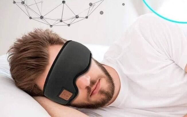 máscara para dormir