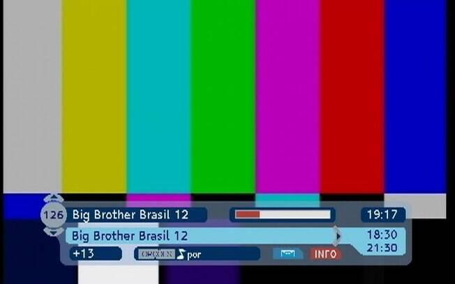 Telespectadores do reality ficam sem as imagens do PPV