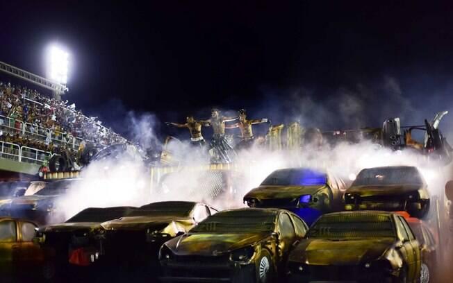 Beija-Flor foi o grande destaque da segunda noite de desfiles do Rio