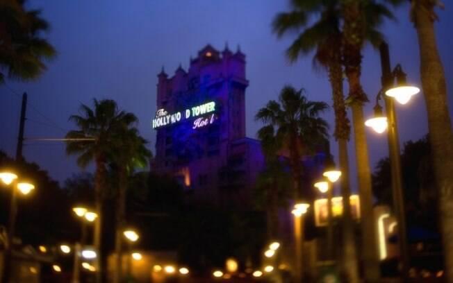 The Twilight Zone Tower of Terror é uma das atrações mais famosas do Hollywood Studios