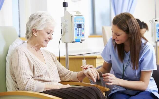 A quimioterapia faz parte do tratamento dos portadores da doença, diagnosticada pelo exame eletroforese de proteínas