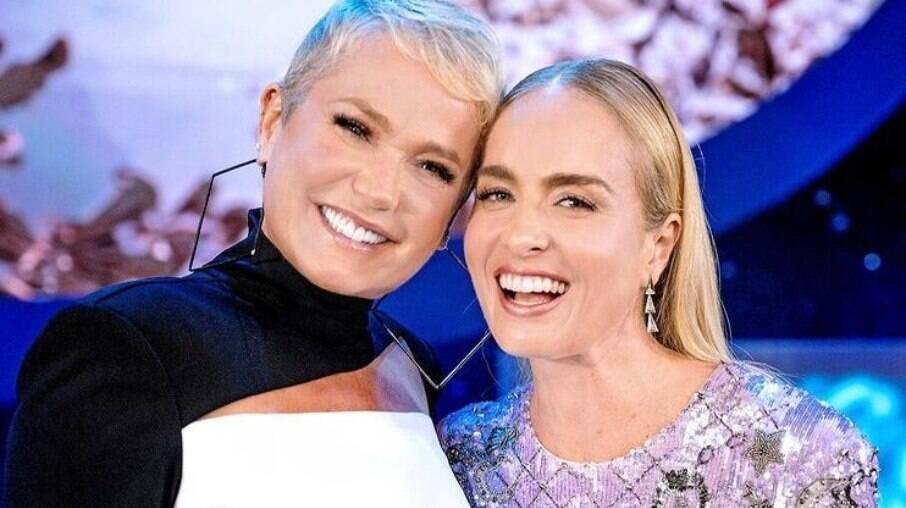 Angélica recebe Xuxa em novo programa