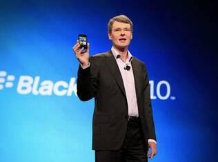Thorsten Heins e o novo BlackBerry: teclado físico será mantido