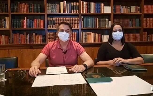 Em live, presidente voltou a minimizar letalidade do novo coronavírus