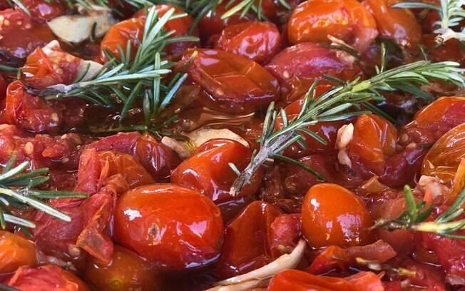 Foto da receita Tomate Confit pronta.