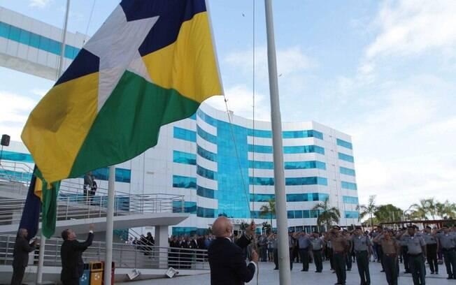 Solenidade em Porto Velho, Rondônia