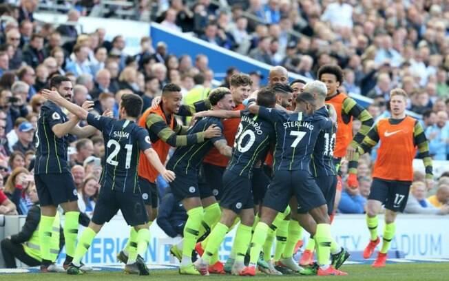 Manchester City é campeão da Premier League