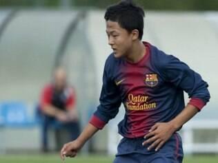 Lee Seung-woo atua nas equipes de base do time catalão