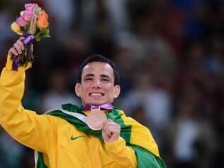 Felipe Katadai e sua medalha de bronze em Londres: emoção intensa