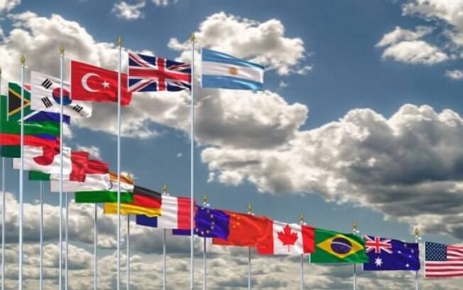 Os líderes emitiram uma breve declaração dizendo que havia lacunas na maneira como o mundo lidava com a pandemia