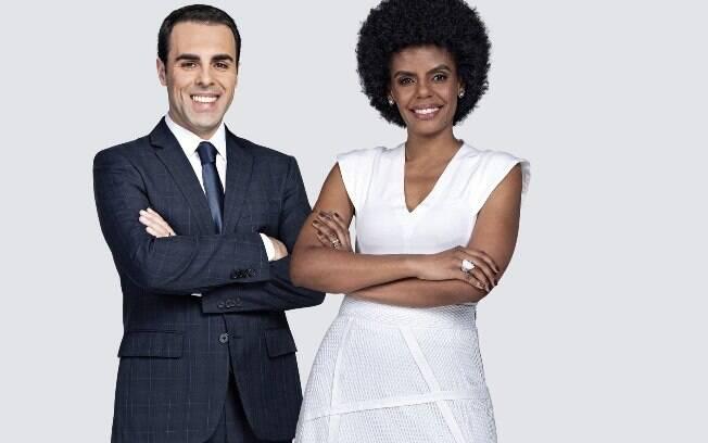 Rafael Colombo e Cynthia Martins