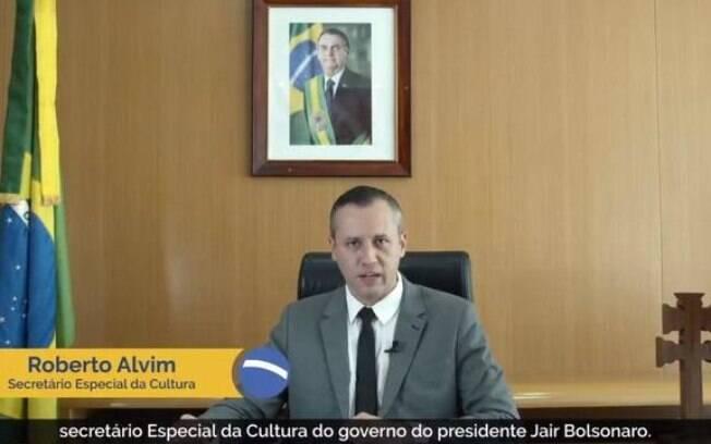 Roberto Alvim, secretário de Cultura do governo Bolsonaro