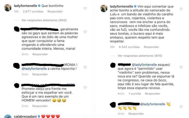 Antonia Fontenelle se irrita com internautas