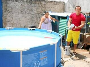 Pedro Cruz. Bombeiro civil criou mecanismo para captar água